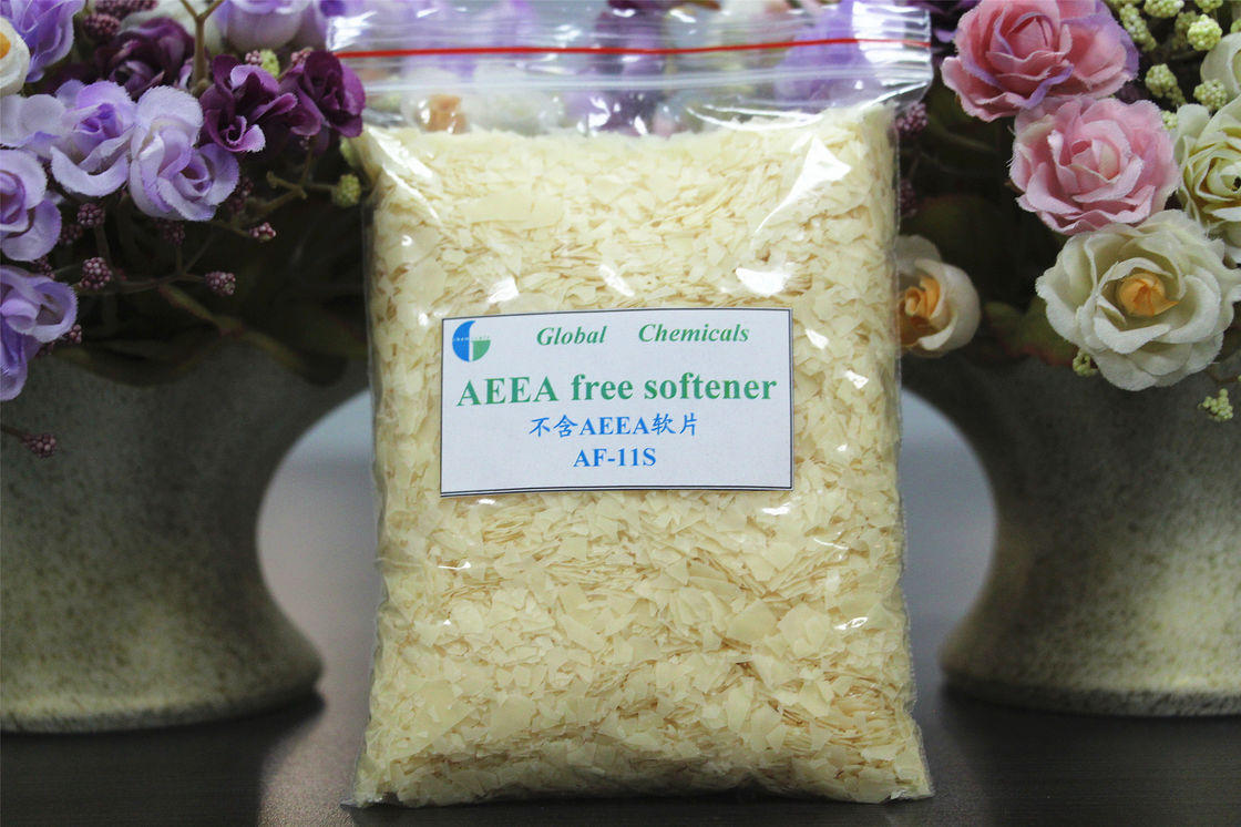 Aeea Free , Low Yellowing Softener AF - 11s For Fabrics Treatment
