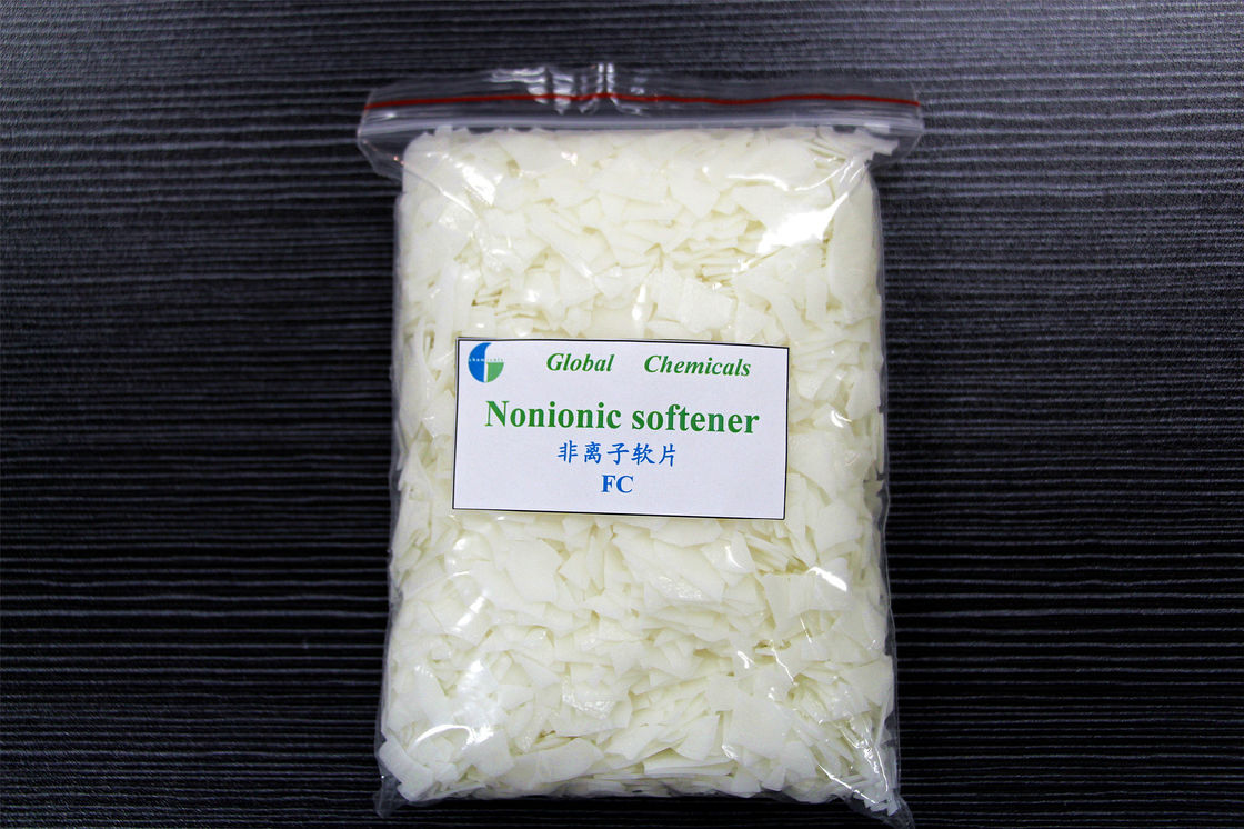 Nonionic Softener Flakes For Dyeing House Low Yellowing To Fabric