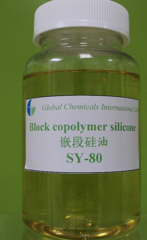 SY-80 / SY-30 Polysiloxane Silicone Block Copolymer Weak Cationic