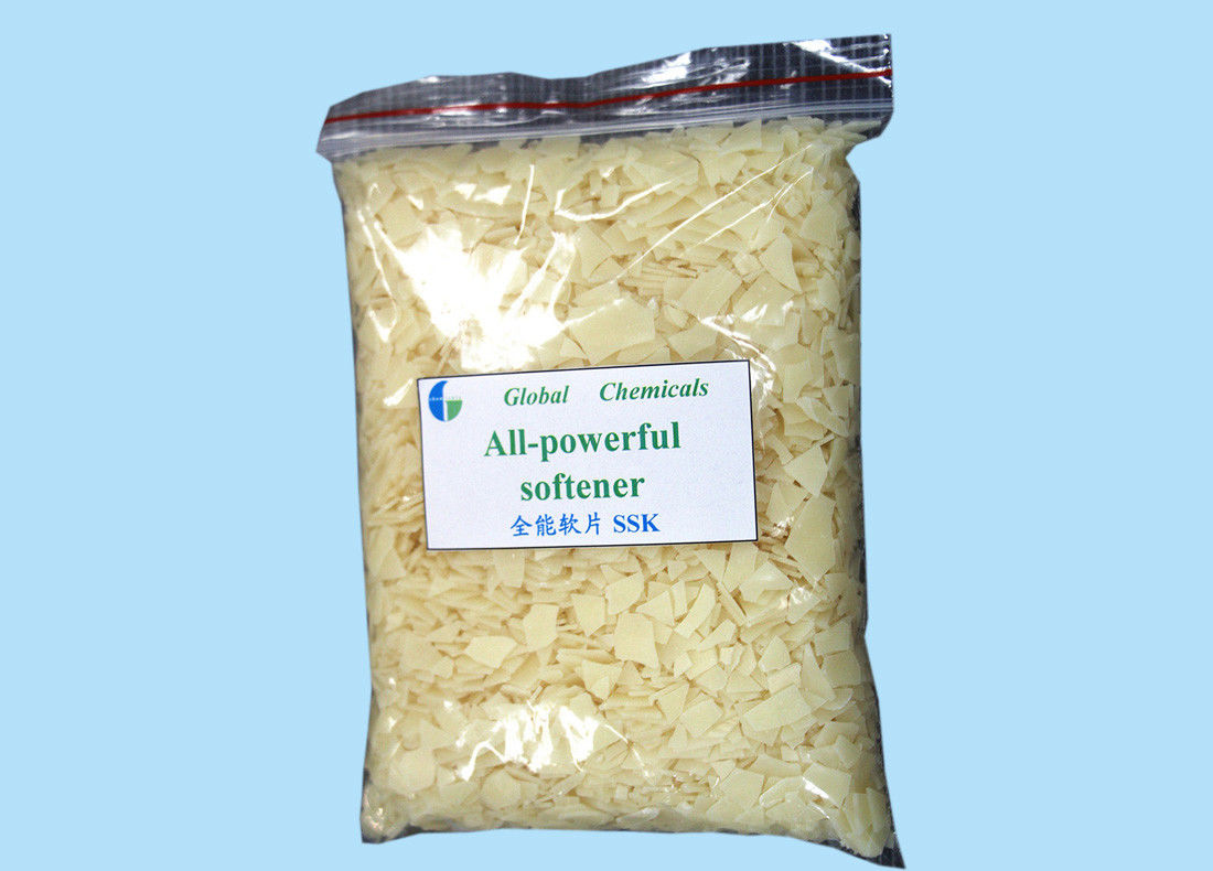 Hot Water Soluble All - Powerful Weak Cationic Cationic Softener Flakes Low Yellowing