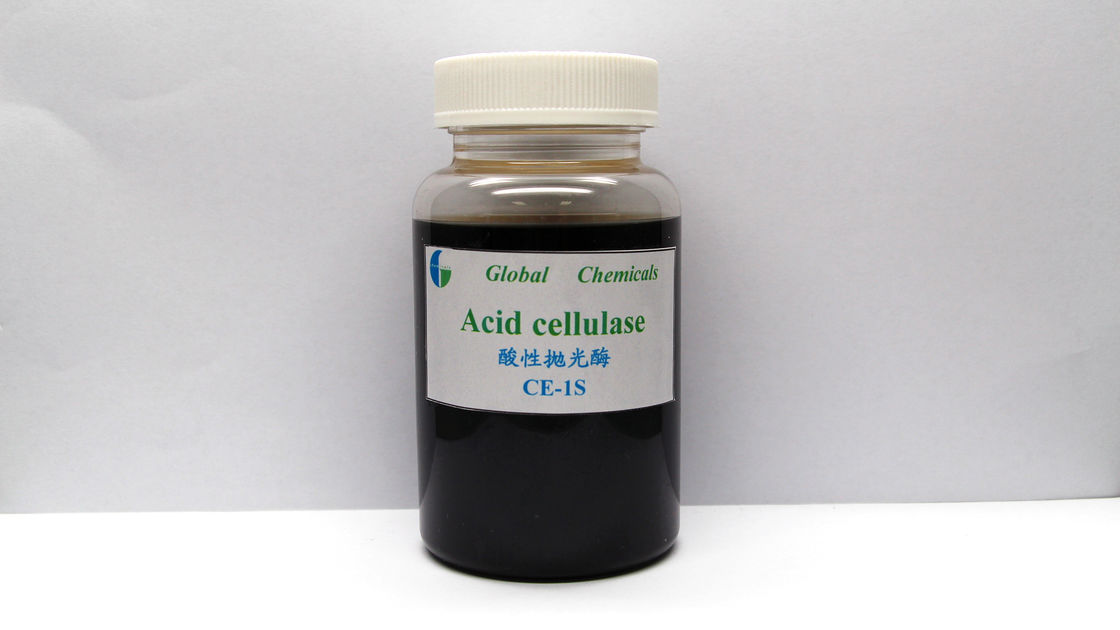 Low Weight Enzyme Brown Acid Cellulase For Denim Washing Chemical