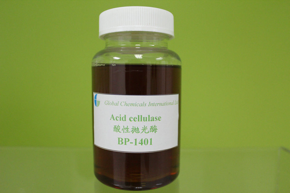 High Efficiency Acid Cellulase , Textile Enzyme For Linen Biopolishing Treatment